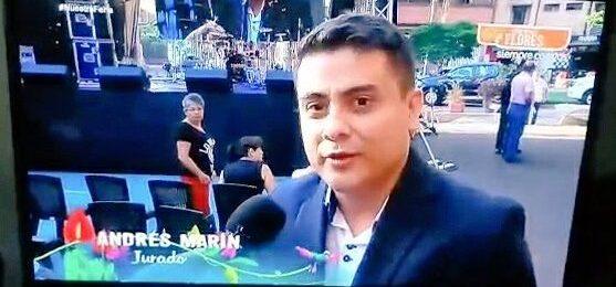 Andrés Esteban Marín, jurado Mujeres Jóvenes Talento 2018